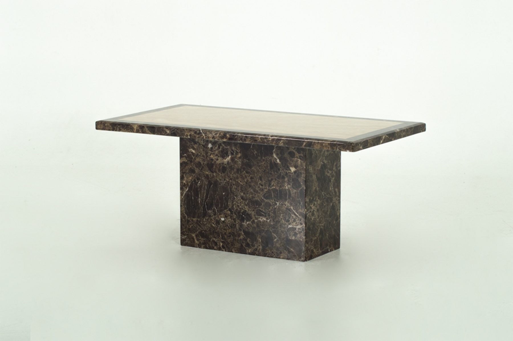 Raveli Brown Marble Coffee Table 1
