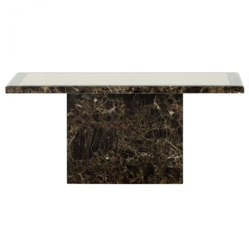 Ravelli Brown Marble Coffee Table
