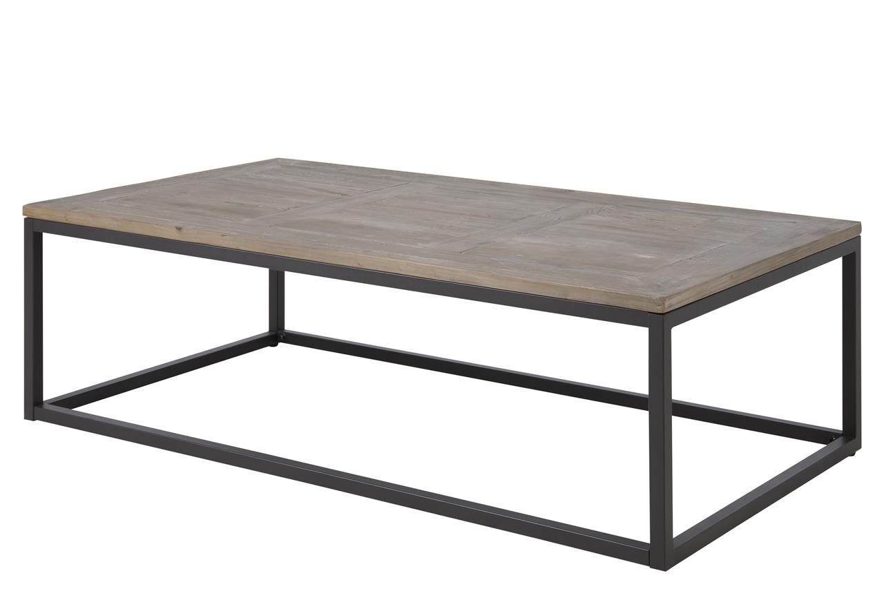 Rockwood Coffee Table Solid Wood & Metal 1