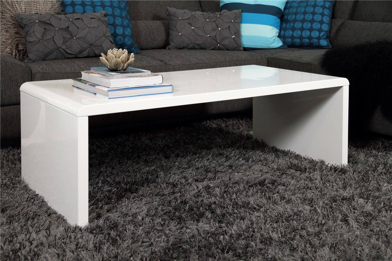 Supernova White High Gloss Coffee Table 1