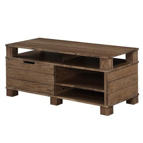 Jual Rustic Oak TV Unit