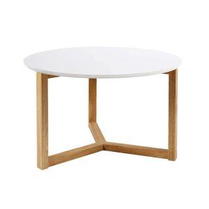 Scarlett White & Solid Oak Coffee Table