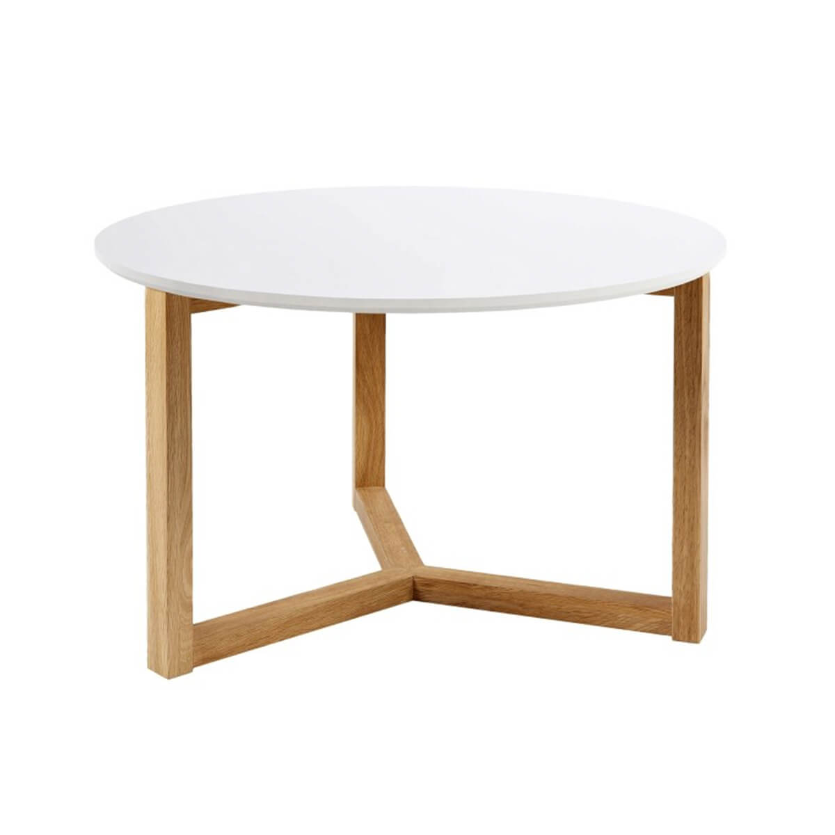 Scarlett White & Solid Oak Coffee Table