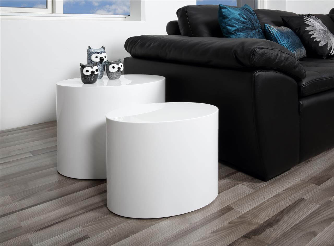 Sophie Set of 2 Oval Coffee Tables 1