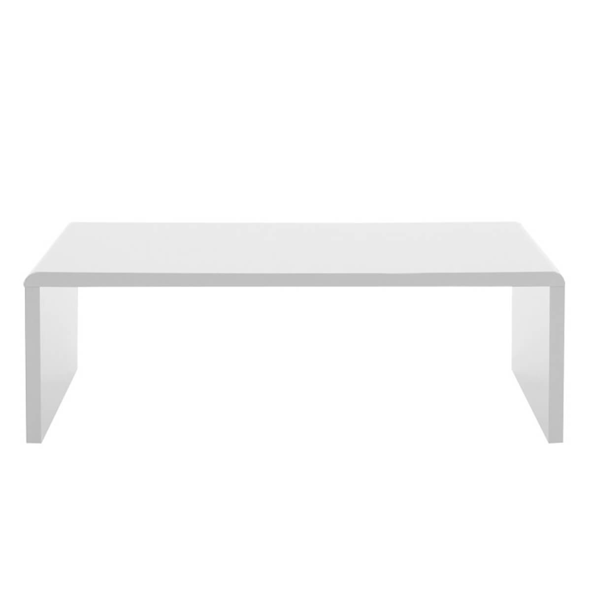 Sasha White High Gloss Coffee Table Coffee Tables Fads