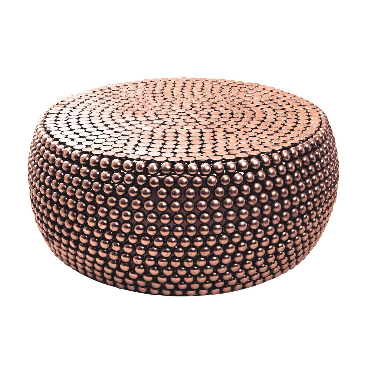Templar copper coffee table