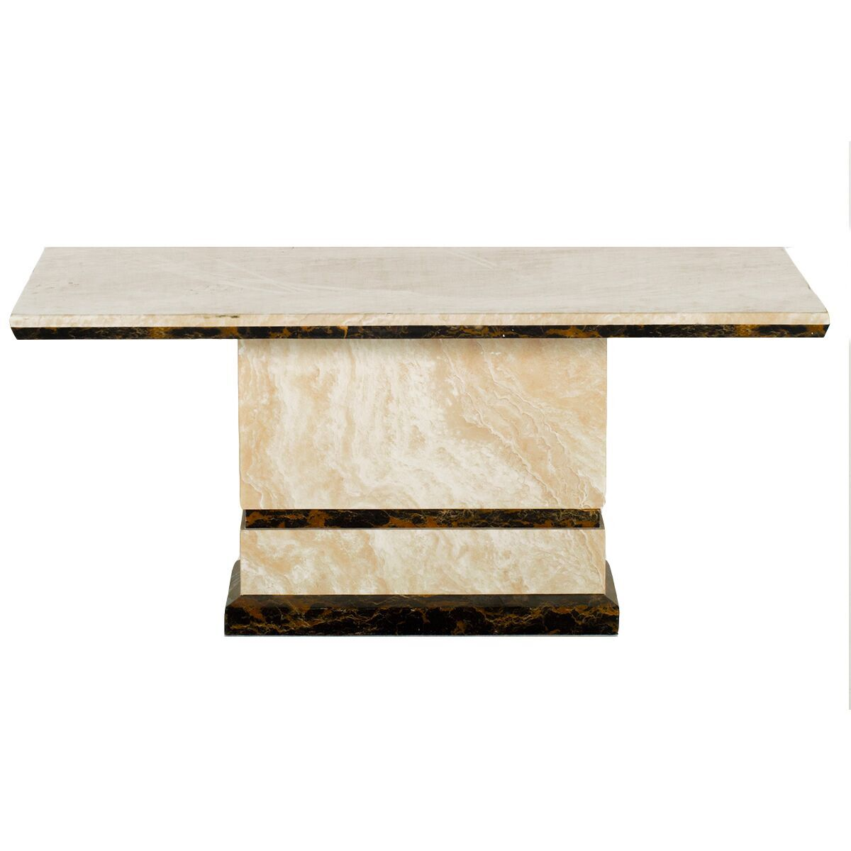 Venus Modern Cream Marble Coffee Table Modern Marble From Fads
