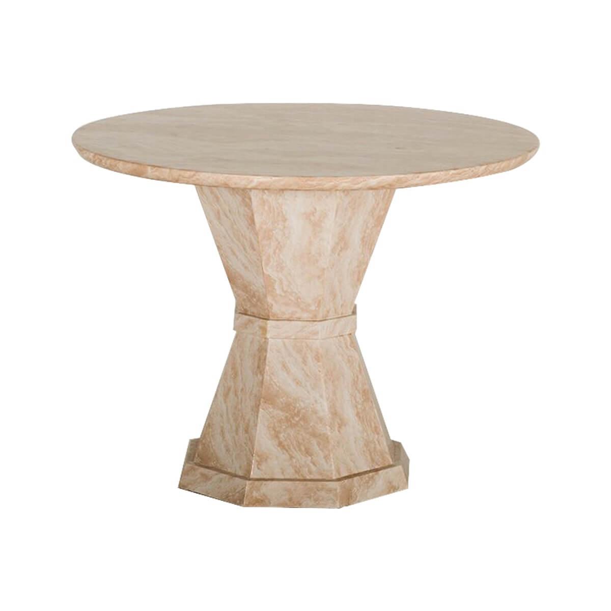 Venus Marble Dining Table Cream 1