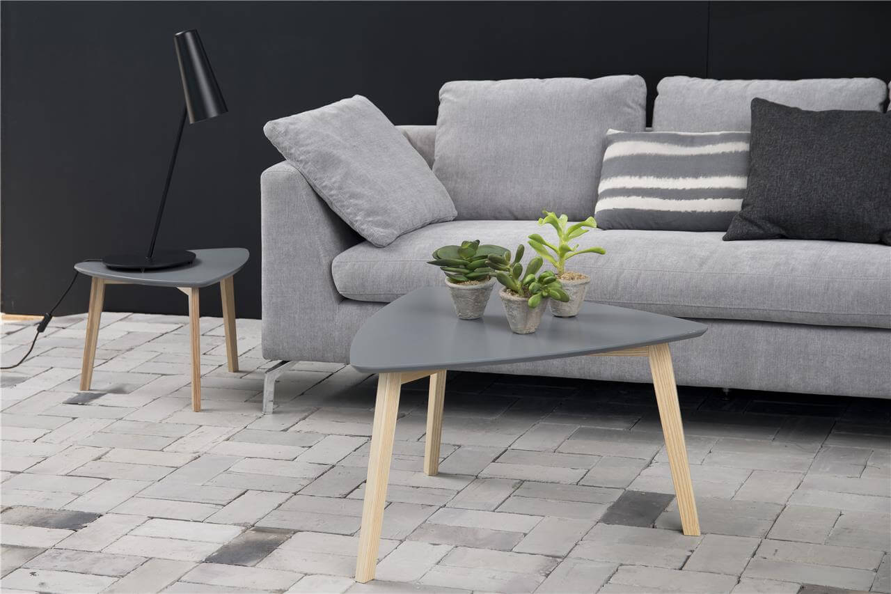 Vitis Grey Triangular Coffee Table 2