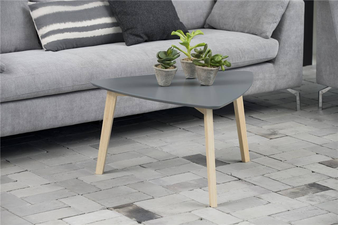 Vitis Grey Triangular Coffee Table 1