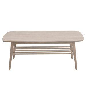 Woodstock White Solid Oak Coffee Table