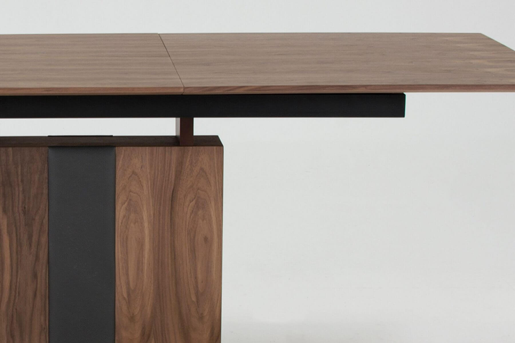 Almara Walnut Extending Dining Table 3