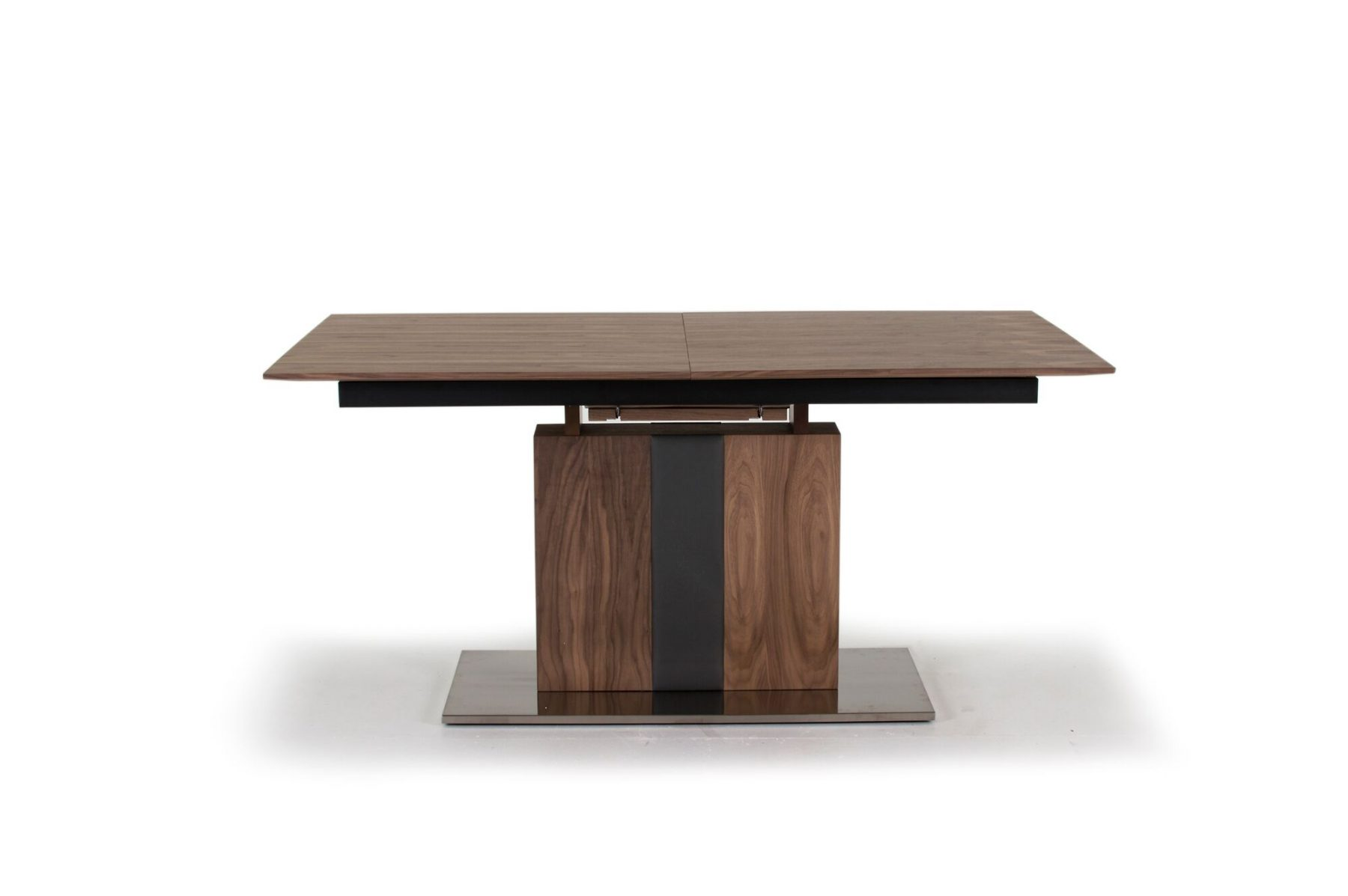 Almara Walnut Extending Dining Table 2