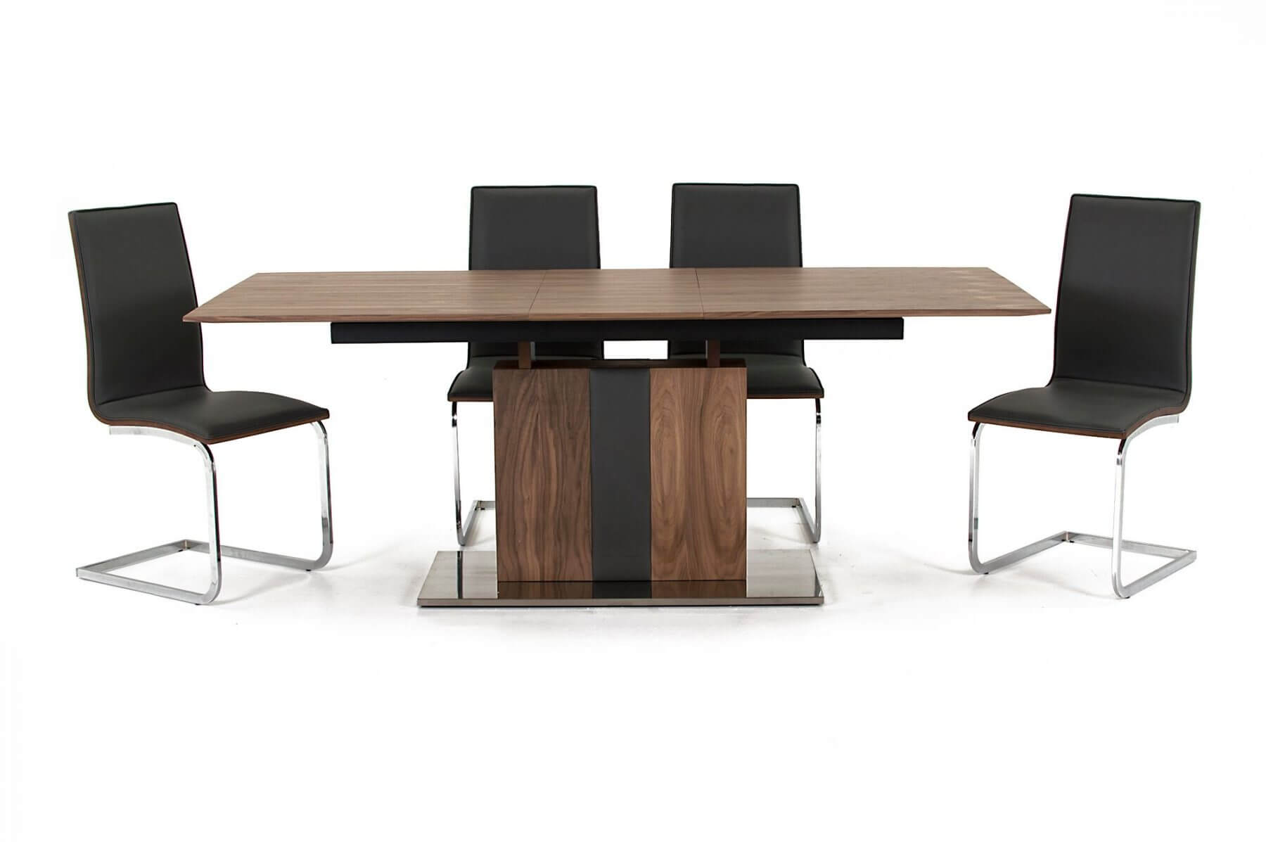 Almara Walnut Extending Dining Table 5