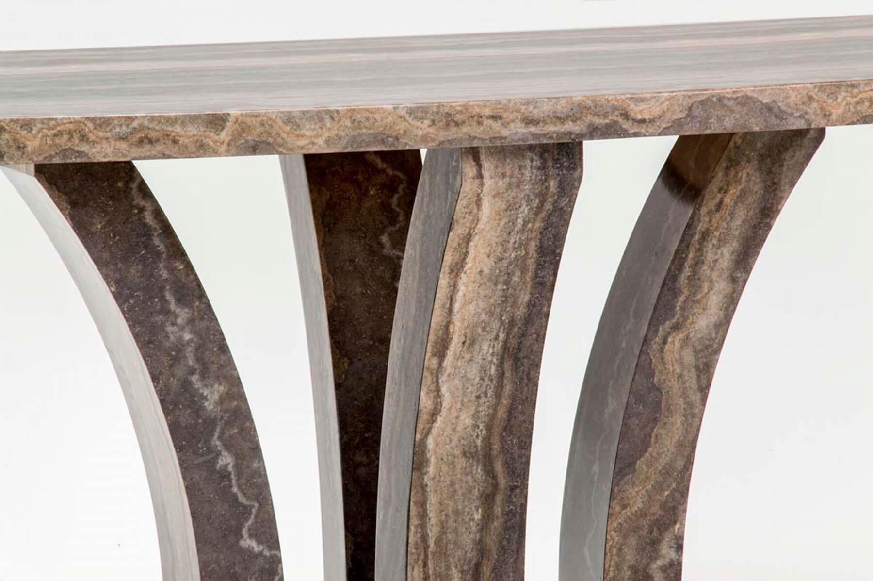 Amalfi Pearl Grey 160cm Dining Table 6