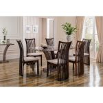 Amalfi Dining Table Angle Pearl Grey 5