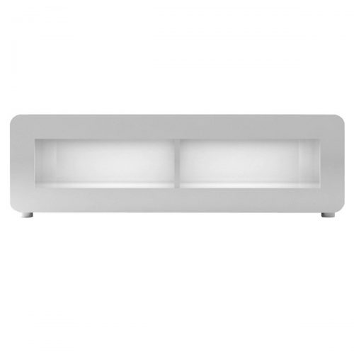 Bump White Gloss TV Unit