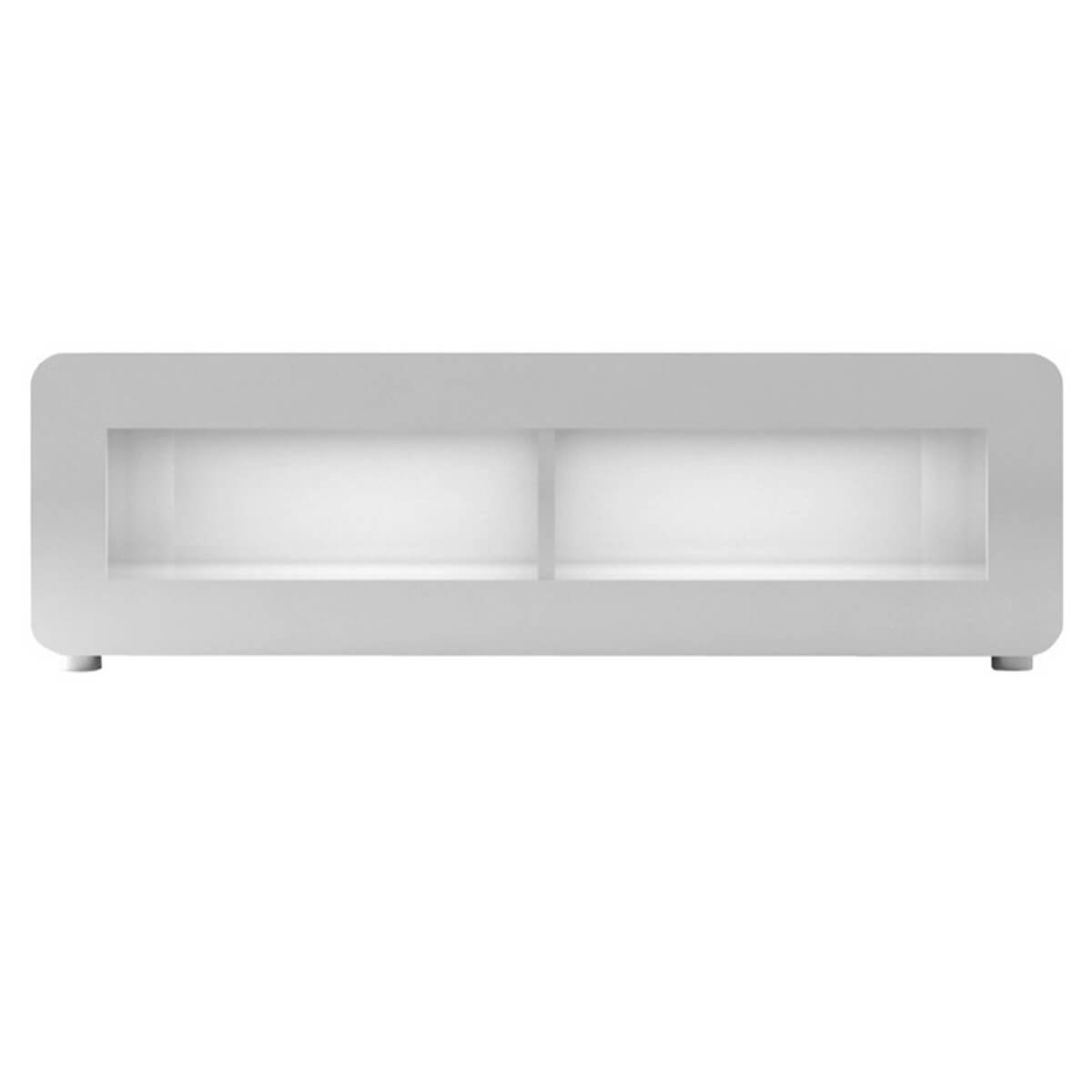 Bump High White Gloss TV Unit 150cm