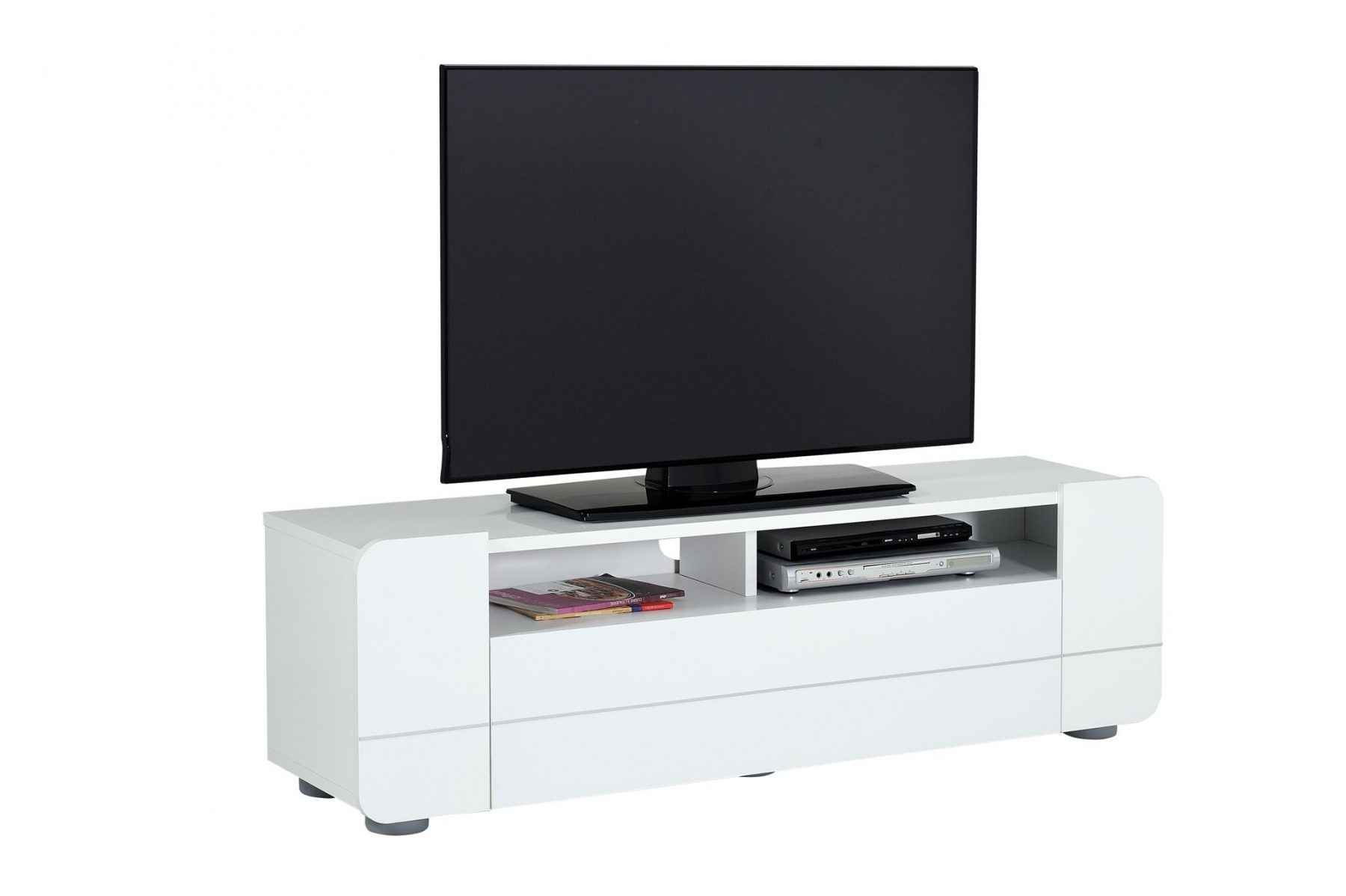 Bump Tv Unit White Gloss Modern Tv Unit Free Delivery Fads # Meuble Tv Floyd