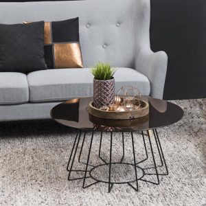 Casia Bronze Coffee Table
