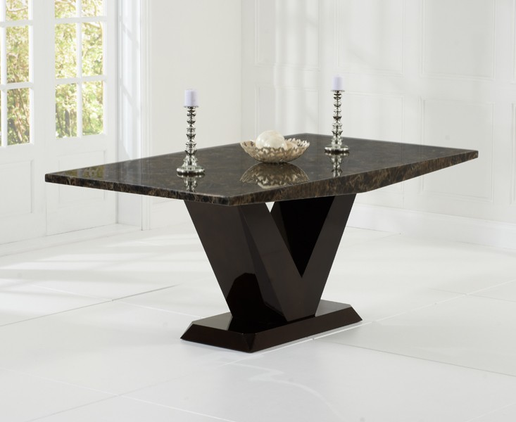 Elvas Brown Mable Dining Table 3