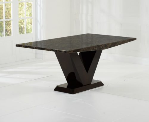 Elvas Brown Mable Dining Table 2