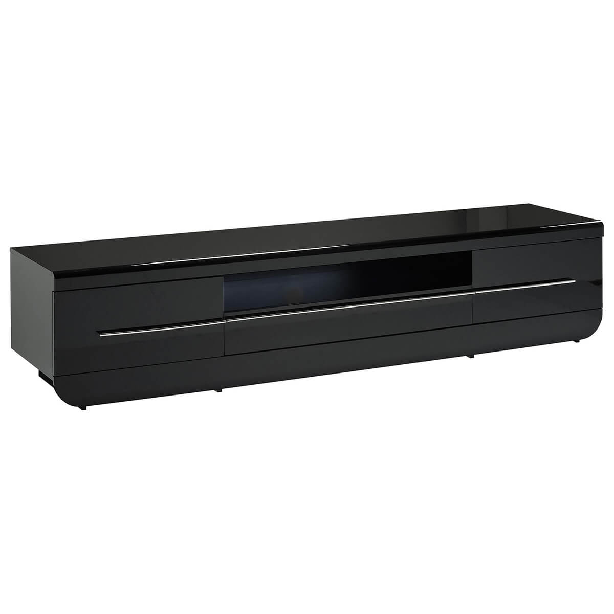 Floyd TV Unit 220cm Black High Gloss