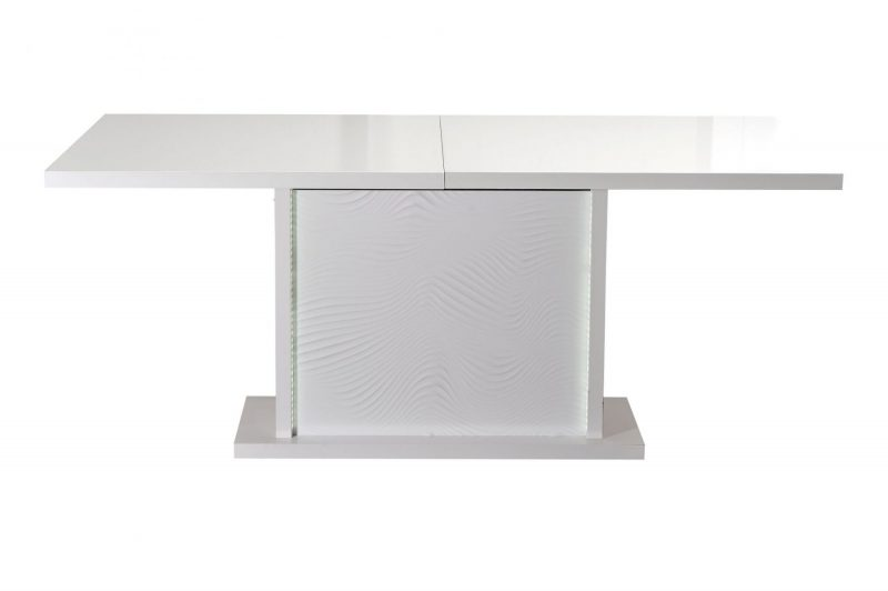 Karma Extending Dining Table White 4