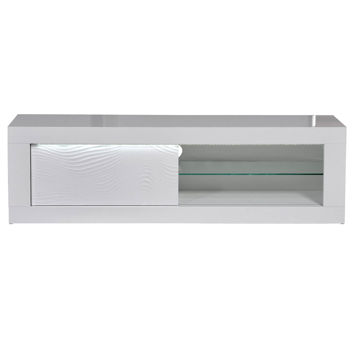 Karma TV Unit 170cm LED White High Gloss