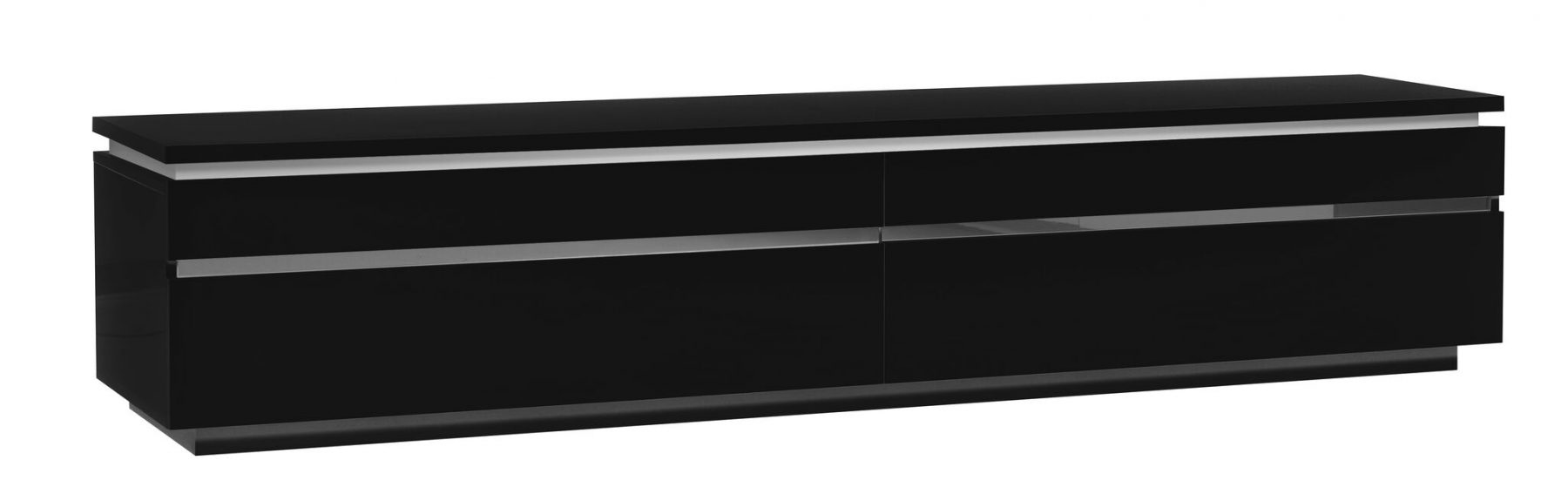 Logan Black Gloss TV Unit 5