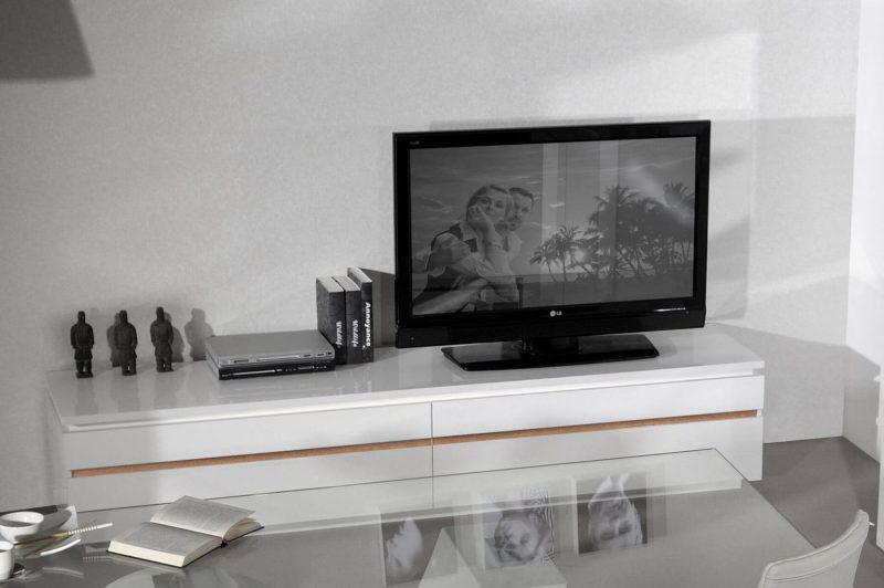Logan TV Unit White Gloss 5