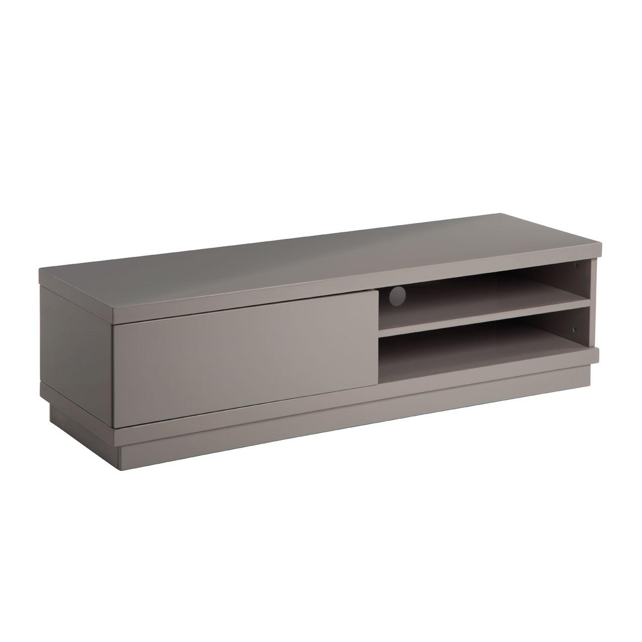madrid media unit high gloss grey modern tv stands fads. Black Bedroom Furniture Sets. Home Design Ideas