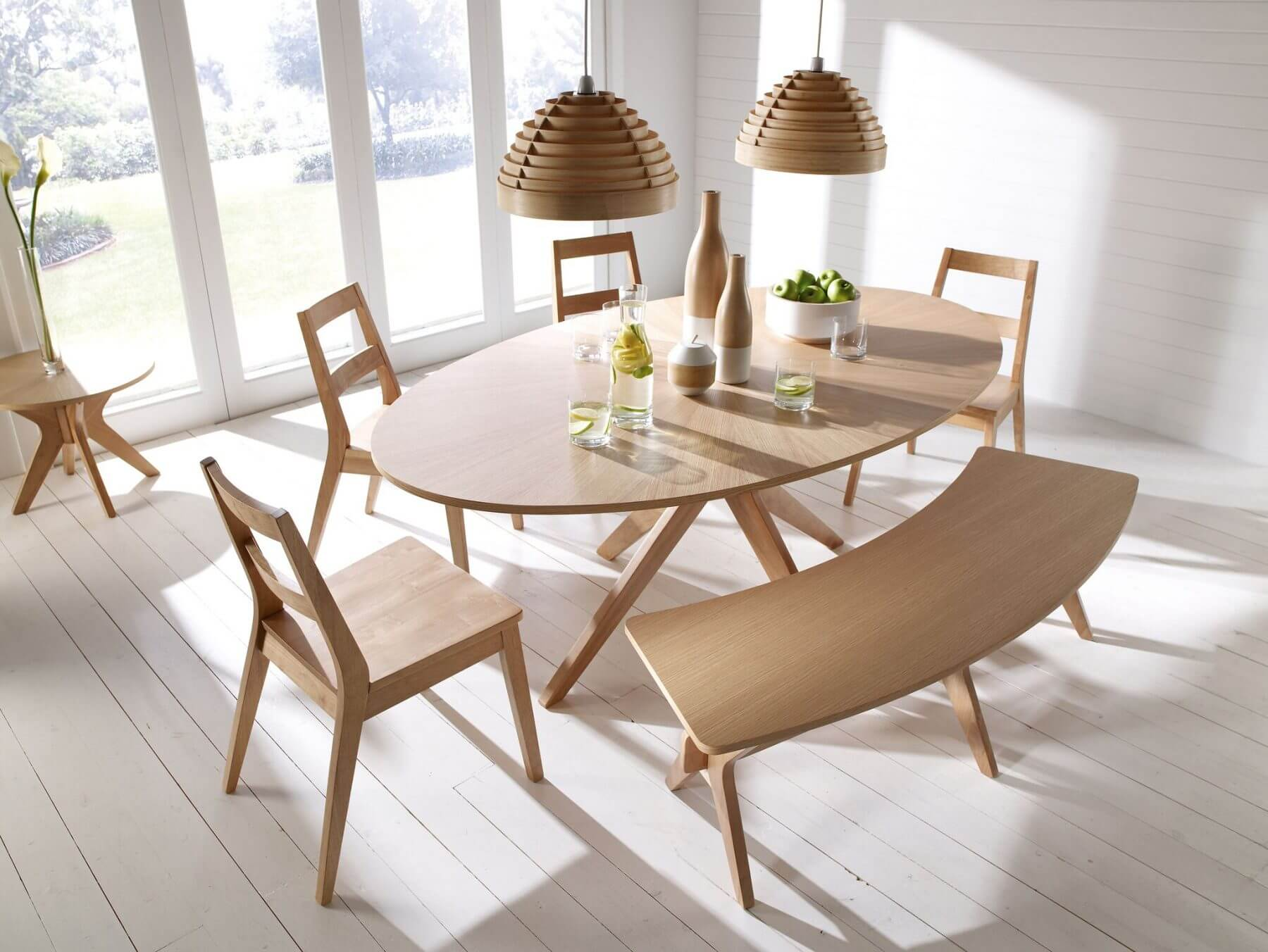 Solna Oval Dining Table 1