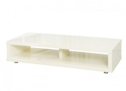 Puro Media TV Stand High Gloss Cream 2