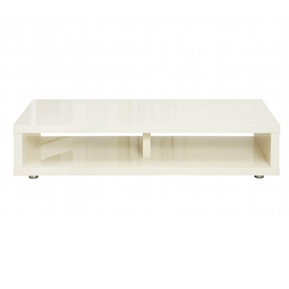 Ayla Media TV Stand 110cm High Gloss Cream