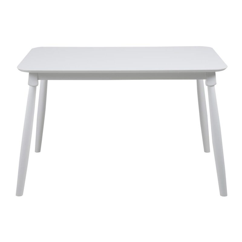 Riano Scandinavian Style Dining Table White