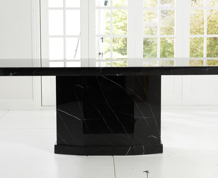 Rimini Black Marble Dining Table 4