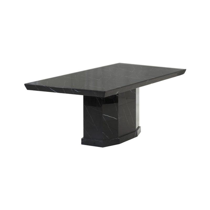 Rimini Black Marble Dining Table