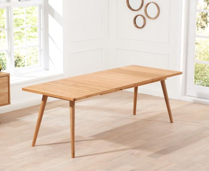 Tiko Oak Extending Dining Table 3