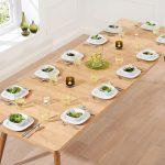 Tiko Oak Extending Dining Table 7