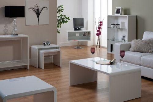 Toscana White High Gloss Living Range