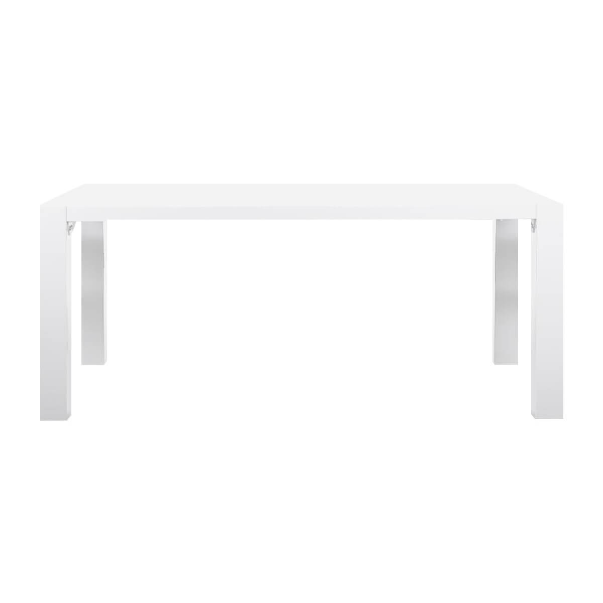 Twister White Gloss Dining Table