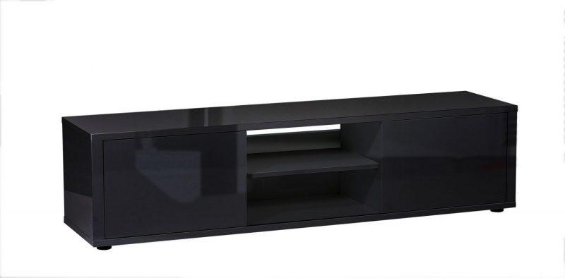 Urbana TV Unit Black Gloss 3