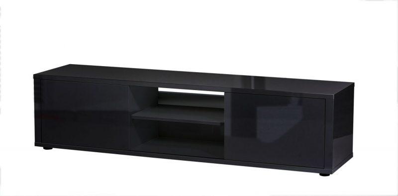 Urbana TV Unit Black Gloss 4