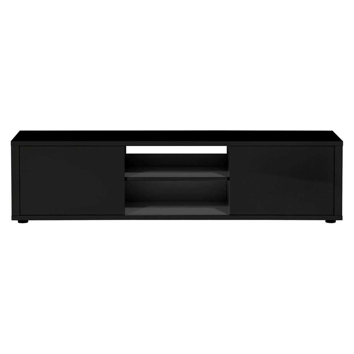 Urbana TV Unit 160cm Black High Gloss