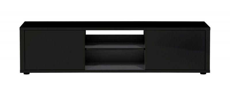 Urbana TV Unit Black Gloss 2