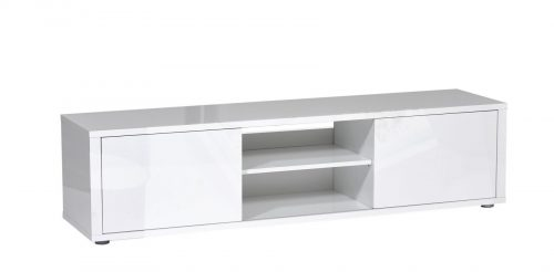 Urbana White Gloss TV Unit 3