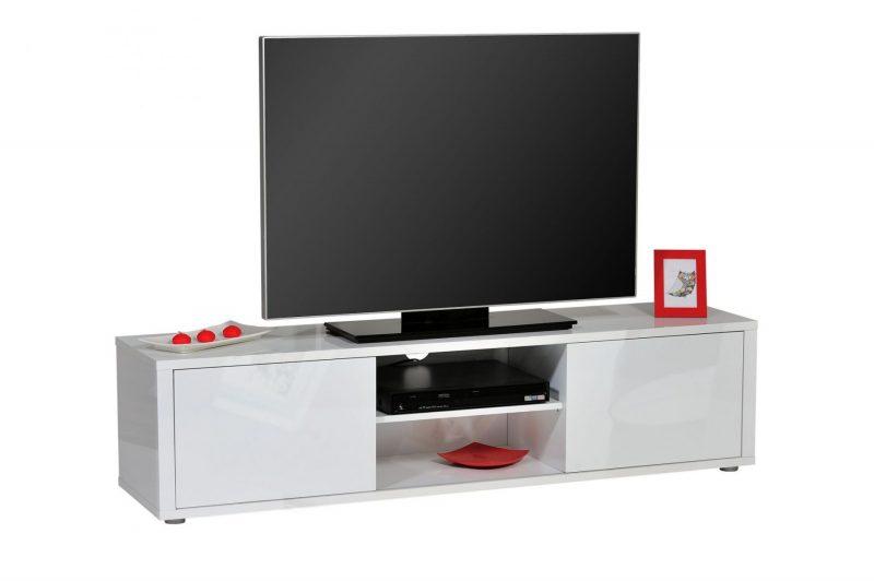 Urbana White Gloss TV Unit 2
