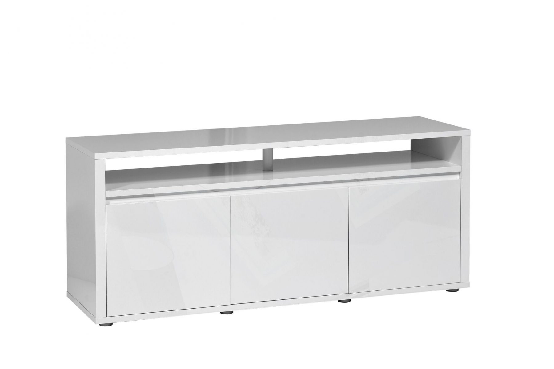 urbana white gloss tv unit modern contemporary fads. Black Bedroom Furniture Sets. Home Design Ideas