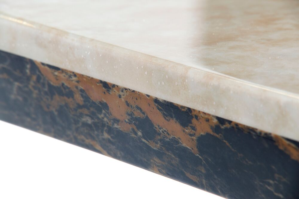 Venus Rectangular Cream Marble Dining Table 5